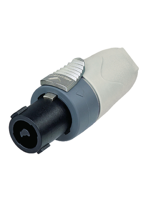 Neutrik - NL4FX-9 - Cable socket, Speakon white 4P, NL4FX-9, Neutrik