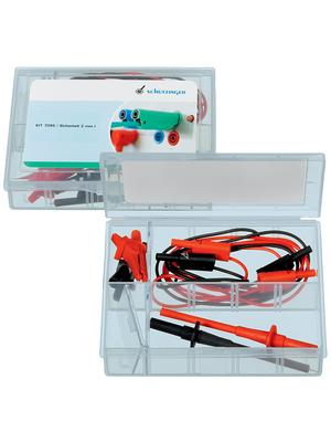Schützinger - KIT 7095 / SICHERHEIT 2 MM I - Safety Test Lead Set ? 2 mm red + black, KIT 7095 / SICHERHEIT 2 MM I, Schützinger