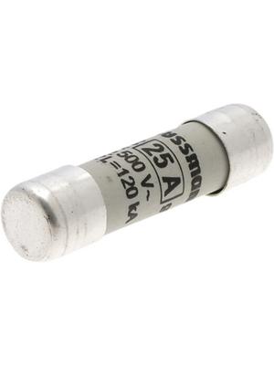 Eaton - C10G25 - Fuse10 x 38 mm,500 VAC,25 A 25 A Fast-blow Bussmann, C10G25, Eaton