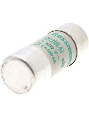 Eaton - C22M100 - Fuse22 x 58 mm,500 VAC,100 A 100 A Slow-blow Bussmann, C22M100, Eaton