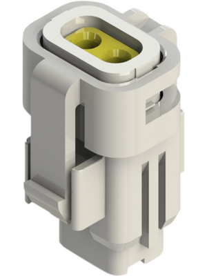 Edac - 560-002-000-210 - Socket housing Pitch2.5 mm Poles 2 560, 560-002-000-210, Edac
