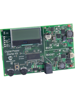 Microchip - DM330017 - MPLAB starterk kit for digital power Stand-alone mode 9 V, DM330017, Microchip