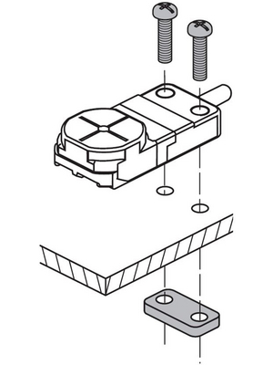 Panasonic - MSGXL15 - Mounting bracket for GX-15, MSGXL15, Panasonic