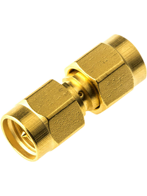 Radiall - R125703000 - straight, Adapter SMA Male\SMA Male, 50 Ohm, R125703000, Radiall