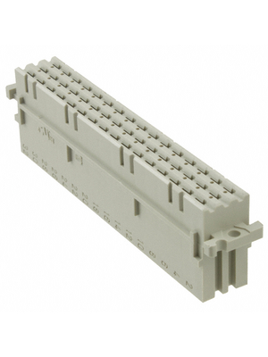 HARTING - 09 06 248 3201 - Multipole socket  F 48-p DIN 41612 N/A 3 x 16 z + b + d, 09 06 248 3201, HARTING
