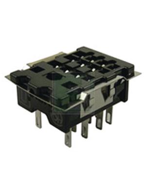 Panasonic - HC4-SS-K - Relay socket for HC4, HC4-SS-K, Panasonic