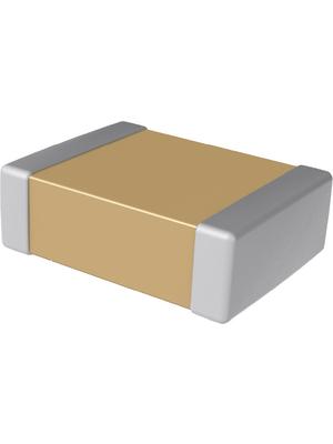 KEMET - C0402C152J8JACTU - Capacitor 1.5 nF 10 VDC 0402, C0402C152J8JACTU, KEMET