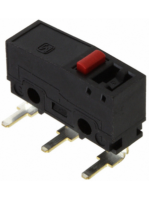 Panasonic - AV32023AT - Micro switch 3 AAC Plunger N/A 1 change-over (CO), AV32023AT, Panasonic