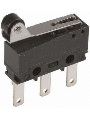 Panasonic - AV32543AT - Micro switch 3 AAC Roller lever N/A 1 change-over (CO), AV32543AT, Panasonic