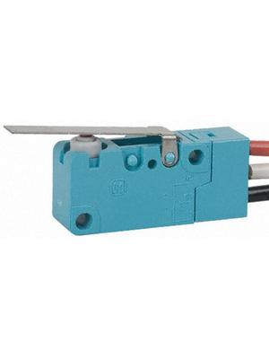 Panasonic - ABV161261J - Micro switch 3 AAC Flat lever N/A 1 change-over (CO), ABV161261J, Panasonic