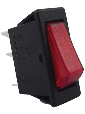 Arcolectric - C5403ATNAA - Rocker switch 1P 10 A 250 VAC, C5403ATNAA, Arcolectric