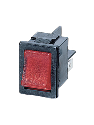Arcolectric - H8553VBNAF - Rocker switch 2P 10 A 250 VAC, H8553VBNAF, Arcolectric