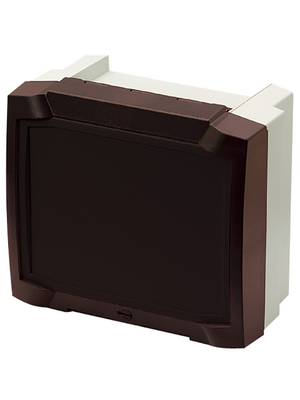 Bopla - BCD 250 SET 12-7024 - Controller housing 234 x 264 x 68.5 mm ABS, BCD 250 SET 12-7024, Bopla