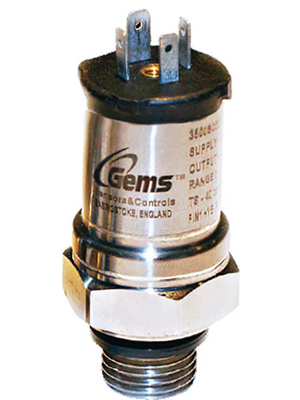 Gems - 3500B700MG05G000 - Pressure sensor, 0...0.700 bar, 4...20 mA, 3500B700MG05G000, Gems