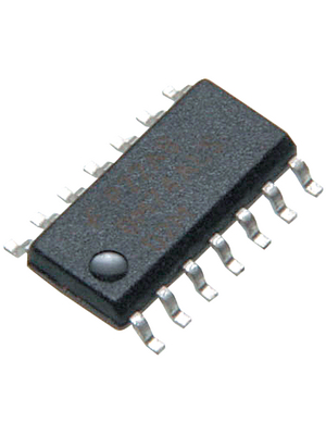 Texas Instruments - TL084CD - Operational Amplifier Quad 3 MHz SO-14, TL084, TL084CD, Texas Instruments