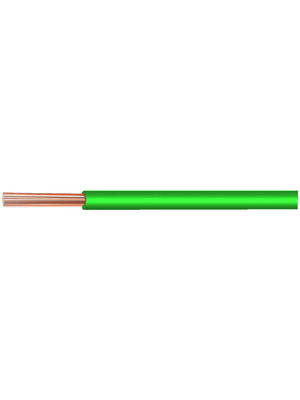 - LI-Y 0,34 MM2 GREEN - Flex, 0.34 mm2, green Copper bare PVC, LI-Y 0,34 MM2 GREEN